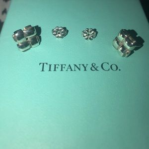 Authentic Tiffany &Co Weave Earrings